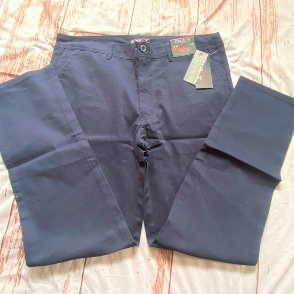 Galaxy by Harvic mens chino pants-blue-size 32X30